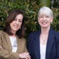 Toni Gregory and Sue Harrison