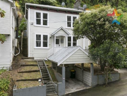 25 Adams Terrace, Aro Valley, Wellington