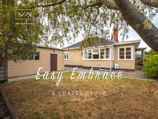 6 Coates Grove, Silverstream, Wellington