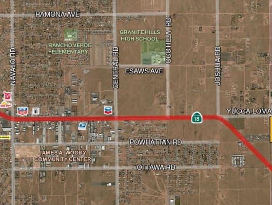 Yucca Loma Rd, San Bernardino County, CA, 92307
