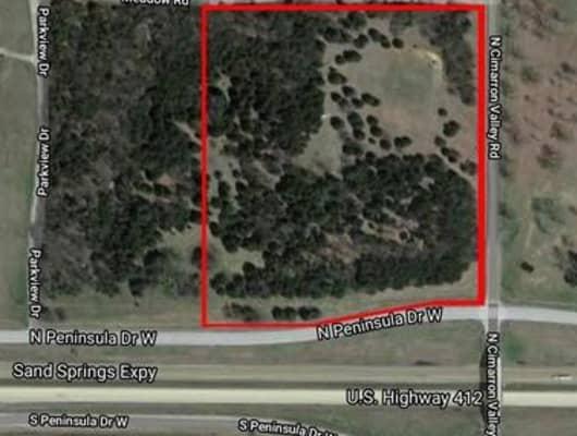 West Peninsula Drive, Westport, OK, 74020