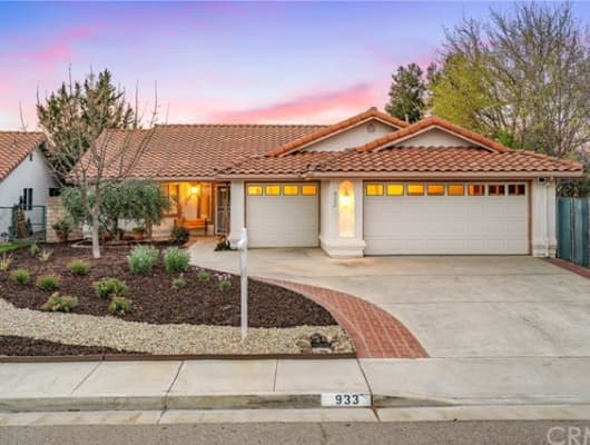 933 Torrey Pines Drive, El Paso de Robles (Paso Robles), CA, 93446