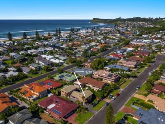 1/22 Barrett Dr, Lennox Head, NSW, 2478