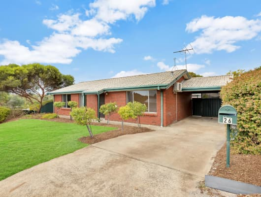 26 Featherstone Dr, Huntfield Heights, SA, 5163