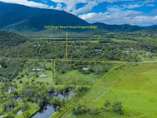 619 Dingo Beach Road, Gregory River, QLD, 4800