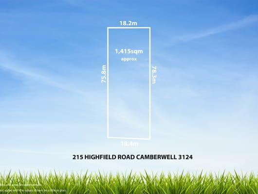 215 Highfield Rd, Camberwell, VIC, 3124