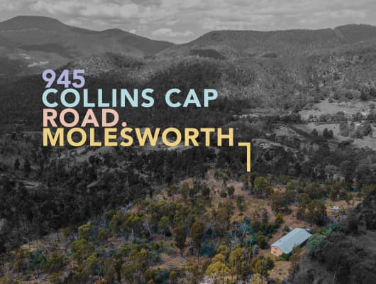 945 Collins Cap Road, Molesworth, TAS, 7140