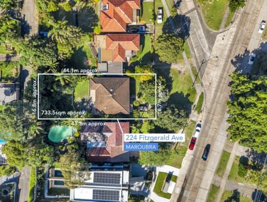 224 Fitzgerald Avenue, Maroubra, NSW, 2035
