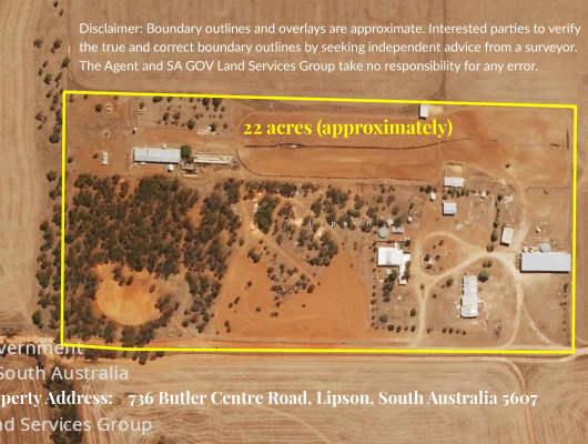 736 Butler Centre Road, Lipson, SA, 5607