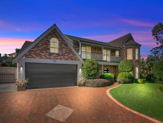 22 Talofa Pl, Castle Hill, NSW, 2154