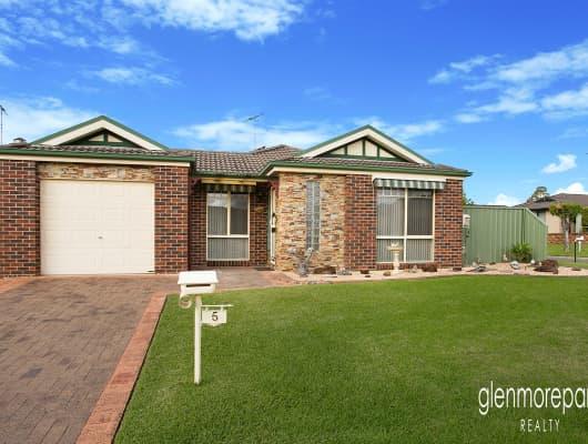 5 Monarch Circuit, Glenmore Park, NSW, 2745