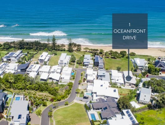 1 Oceanfront Drive, Sapphire Beach, NSW, 2450