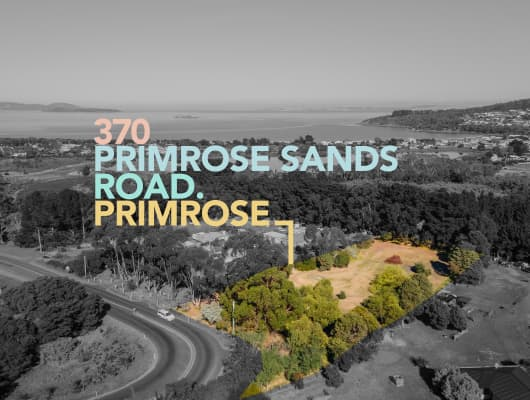 370 Primrose Sands Road, Primrose Sands, TAS, 7173