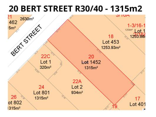 20 BERT STREET, Gosnells, WA, 6110