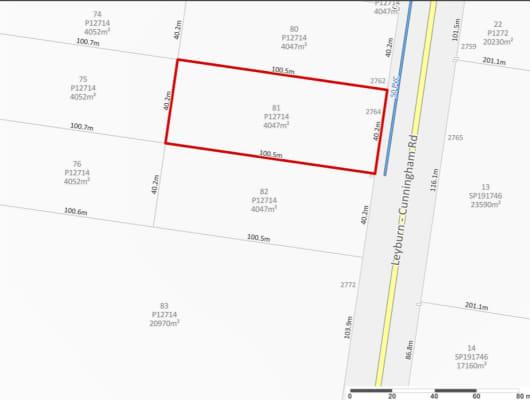 2766 Leyburn Cunningham Rd, Pratten, QLD, 4370